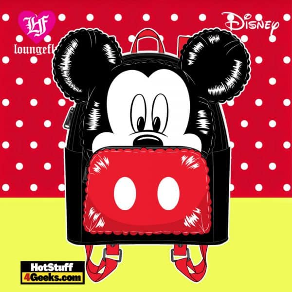 Loungefly Disney Mickey Mouse Balloon Cosplay Mini Backpack - April 2021 pre-orders coming on May 2021