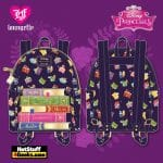 Loungefly Disney Princesses Books AOP Mini Backpack - March 2021 pre-orders coming on April 2021