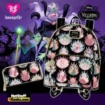 Loungefly Disney Villains Pastel Flames Collection - April 2021 pre-orders coming on May 2021