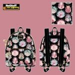 Loungefly Disney Villains Pastel Flames AOP Mini Backpack - April 2021 pre-orders coming on May 2021