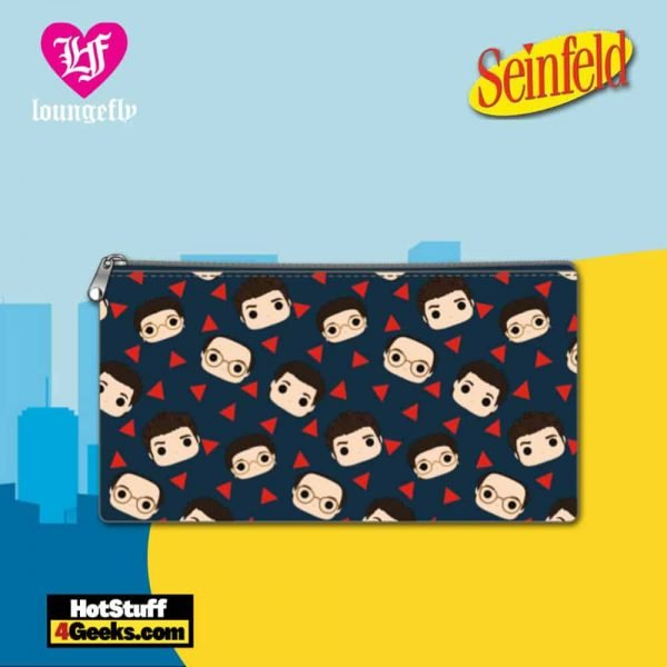 Loungefly Seinfeld All Over Print Nylon Coin Bag