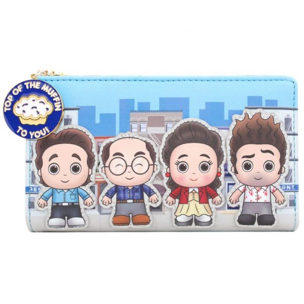 Loungefly Seinfeld City Flap Wallet