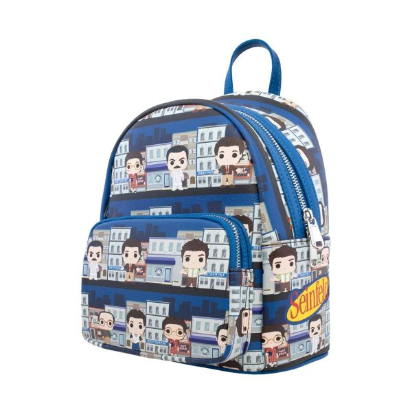 Loungefly Seinfeld Pop! City Print Mini Backpack