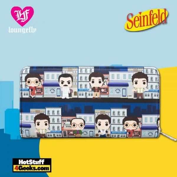Loungefly Seinfeld Pop! City Print Wallet
