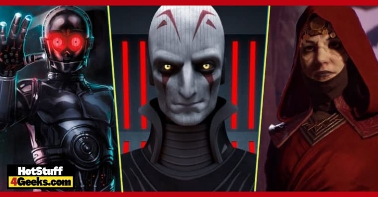 10 Most Scary and Disturbing Star Wars Characters