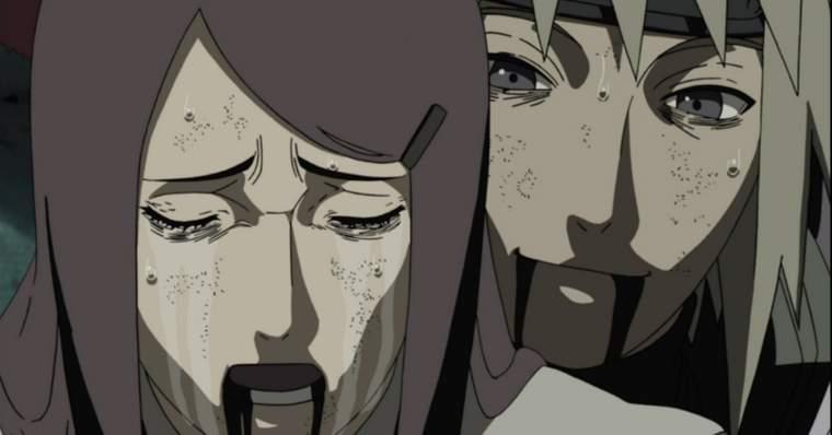 Naruto: The Saddest Deaths in The Anime - Naruto's parents - Minato and Kushina