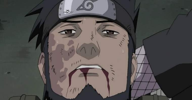 Naruto: The Saddest Deaths in The Anime - Asuma Sarutobi
