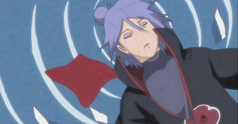 Naruto: The Saddest Deaths in The Anime - Konan