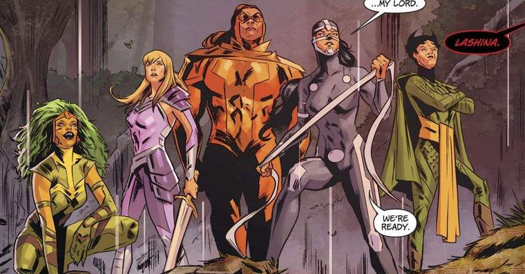 10 Most Vicious New Gods of Apokolips: The Furies