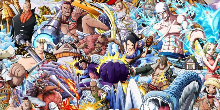 One Piece All Anime Saga Recap> Sky Island Saga (Skypiea)