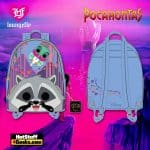 Pop by Loungefly Disney Pocahontas Meeko and Flit Earth Day Cosplay Mini Backpack - March 2021 pre-orders coming on April 2021