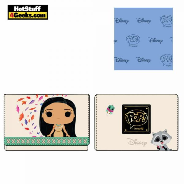 Pop by Loungefly Disney Pocahontas Meeko and Flit Earth Day Wallet - March 2021 pre-orders coming on April 2021