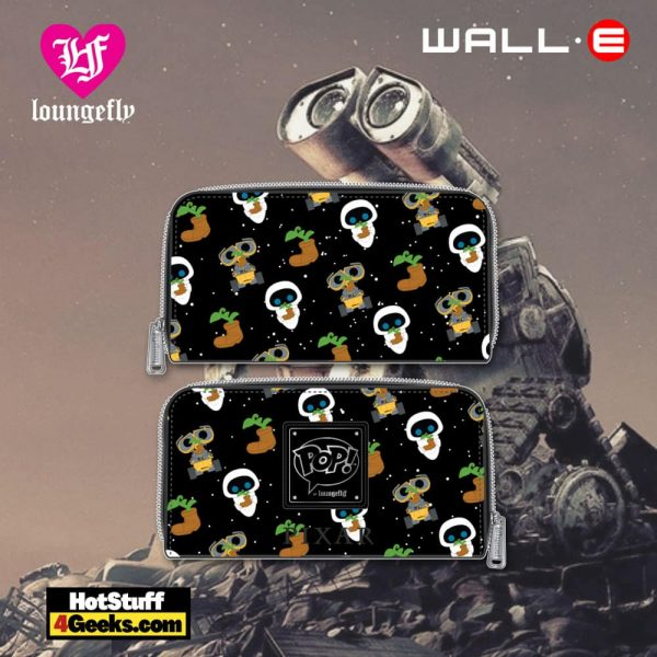 Pop by Loungefly Pixar Wall-E Earth Day AOP Zip Around Wallet - March 2021 pre-orders coming on April 2021