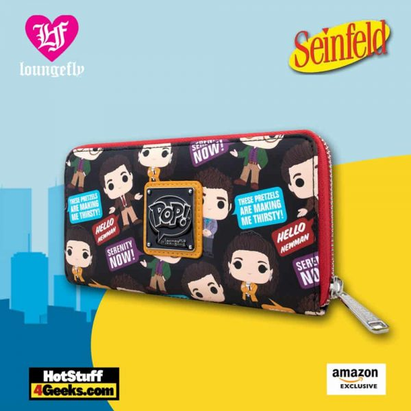 Pop! by Loungefly: Seinfeld Zip Around Wallet - Amazon Exclusive
