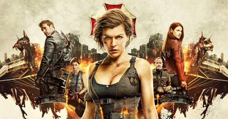 Resident Evil | All The Movies Ranked from Worst to Best - Resident Evil: The Final Chapter (2016)