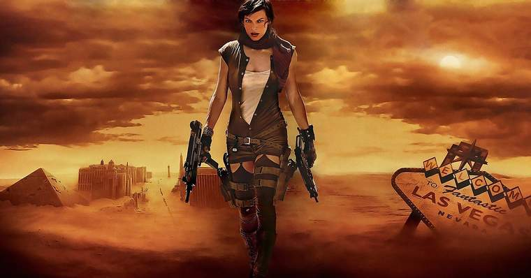Resident Evil | All The Movies Ranked from Worst to Best - Resident Evil: Extinction (2007)