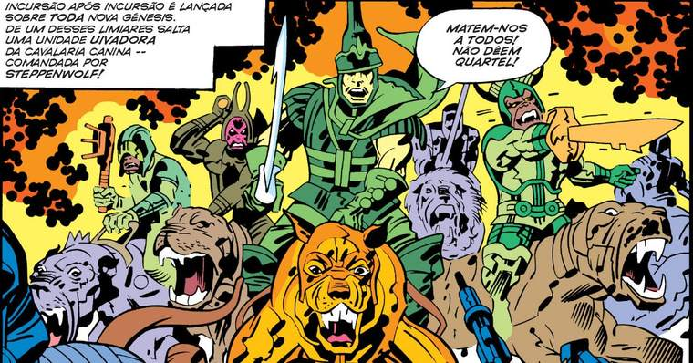 Meet Steppenwolf: All About the Mighty Powerful DC Villain: Steppenwolf First Appearance