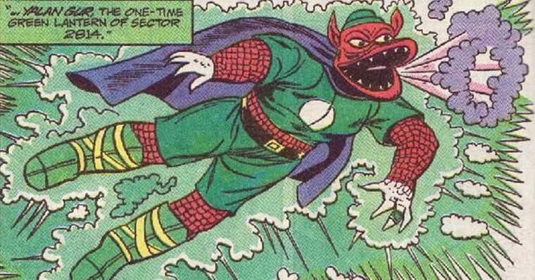 Meet Yalan Gur & Kilowog: The Green Lanterns from Snyder Cut: The origins of Yalan Gur