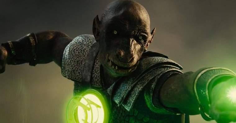 Meet Yalan Gur & Kilowog: The Green Lanterns from Snyder Cut: Yalan Gur in Justice League