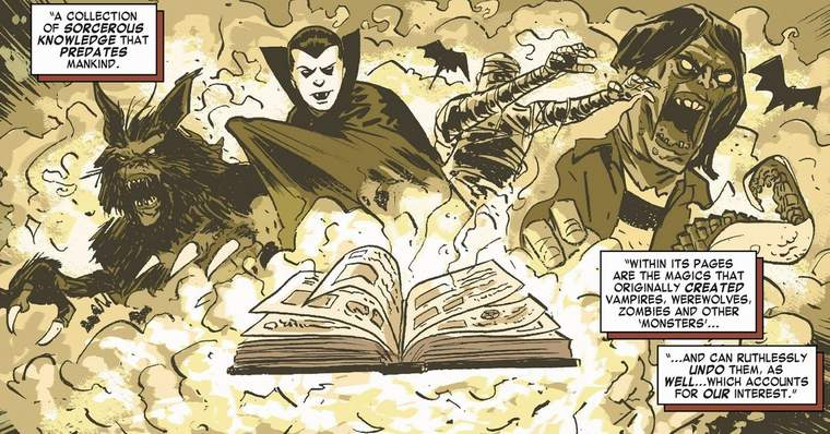 Wandavision: Darkhold - The Marvel Comics' Book of Sins - What is in the pages of the Darkhold?