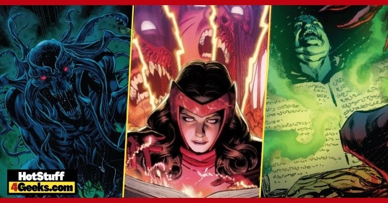 Wandavision: What is the Darkhold? The Marvel Comics' Book of Sins