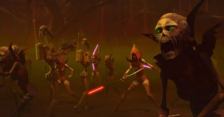 10 Most Scary and Disturbing Star Wars Characters: Nightsisters