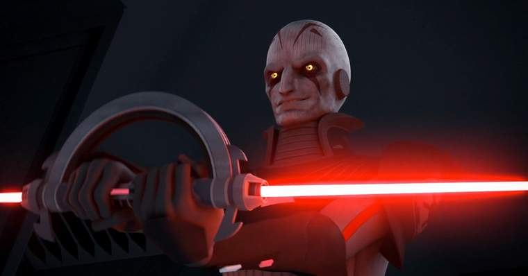 10 Most Scary and Disturbing Star Wars Characters: Grand Inquisitor