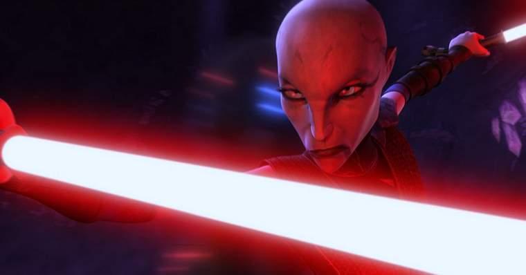 10 Most Scary and Disturbing Star Wars Characters: Asajj Ventress