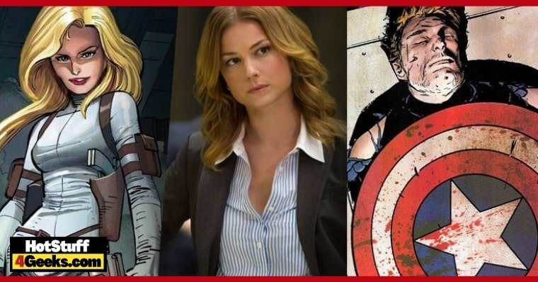 10 Things About Sharon Carter, Agent 13, in the Comics