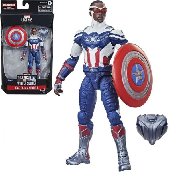 Avengers 2021 Marvel Legends 6-Inch Captain America Sam Wilson Action Figure