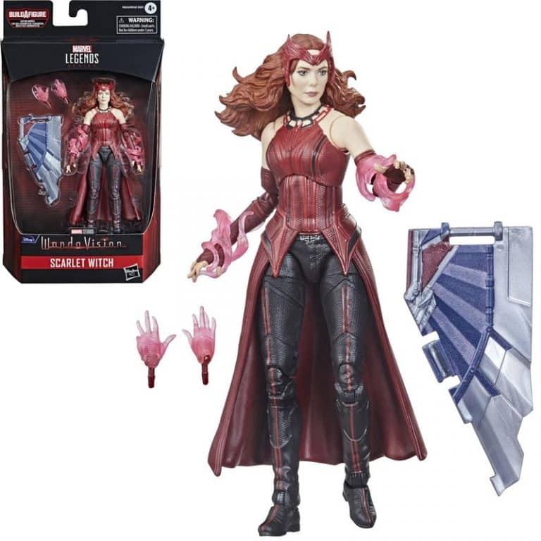 Avengers 2021 Marvel Legends 6-Inch Scarlet Witch Action Figure