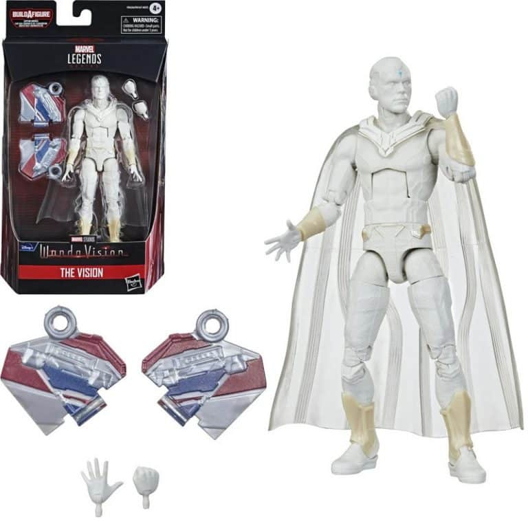 Avengers 2021 Marvel Legends 6-Inch The Vision Action Figure