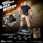 Beast Kingdom Fast and Furious - Luke Hobbs (DAH-038 Action Figure)