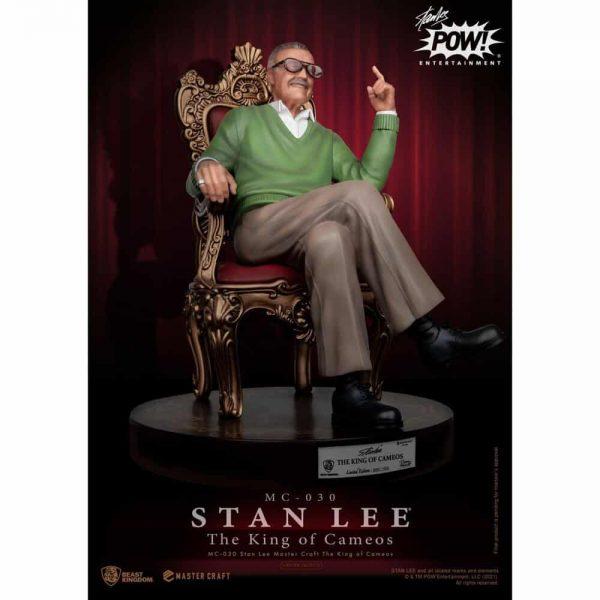Beast Kingdom: Stan Lee Master Craft The King Of Cameos (MC-030 Master Craft Statue)