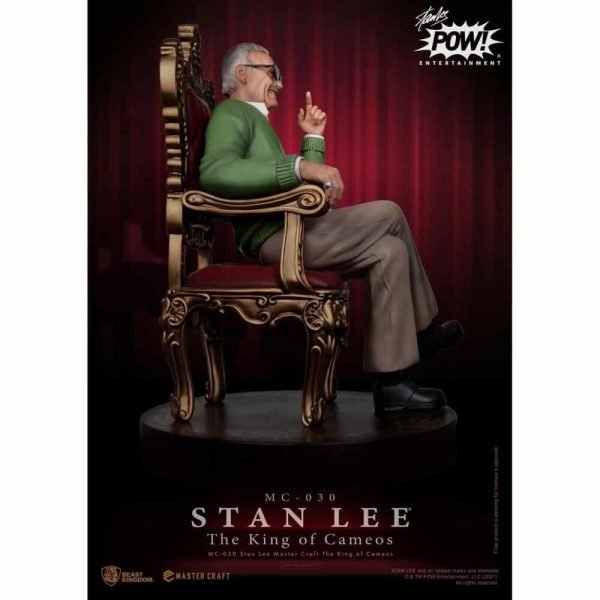 Beast Kingdom: Stan Lee Master Craft The King Of Cameos (MC-030 Master Craft Statue)