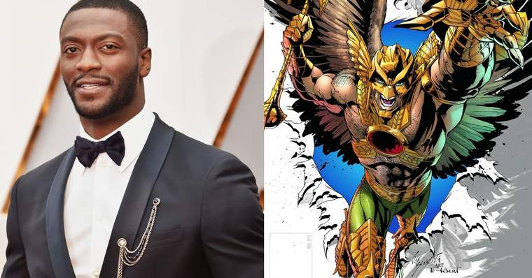 Black Adam: ALL the Cast Confirmed for the New DC Movie - Aldis Hodge as Carter Hall/Hawkman