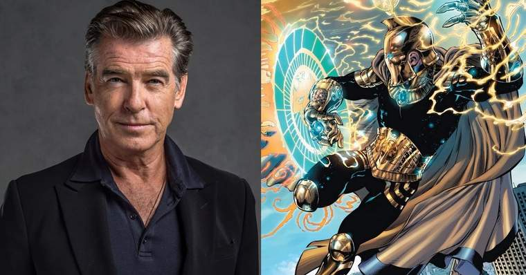 Black Adam: ALL the Cast Confirmed for the New DC Movie - Pierce Brosnan as Kent Nelson/Doctor Fate