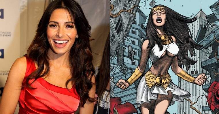 Black Adam: ALL the Cast Confirmed for the New DC Movie - Sarah Shahi as Adrianna Tomaz/Isis