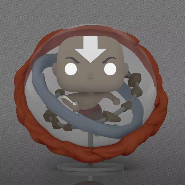 Funko POP! Animation: Avatar the Last Airbender - Aang (Avatar State) Glow In The Dark 6- Inch Jumbo Sized Funko Pop! Vinyl Figure - Target Exclusive