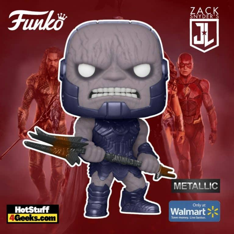 Funko POP! Movies: Zack Snyder's Justice League - Darkseid Metallic Funko Pop! Vinyl Figure - Walmart Exclusive
