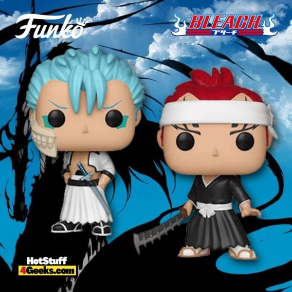 Funko Pop! Animation: Bleach - Grimmjow and Renji Funko Pop! Vinyl Figures
