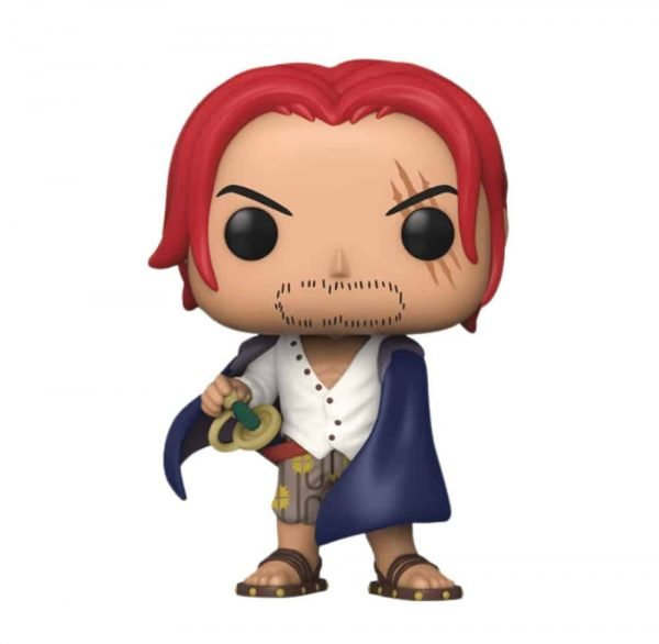 Funko Pop! Animation: One Piece - Shanks With Chase Funko Pop! Vinyl Figure - Big Apple Collectibles Exclusive