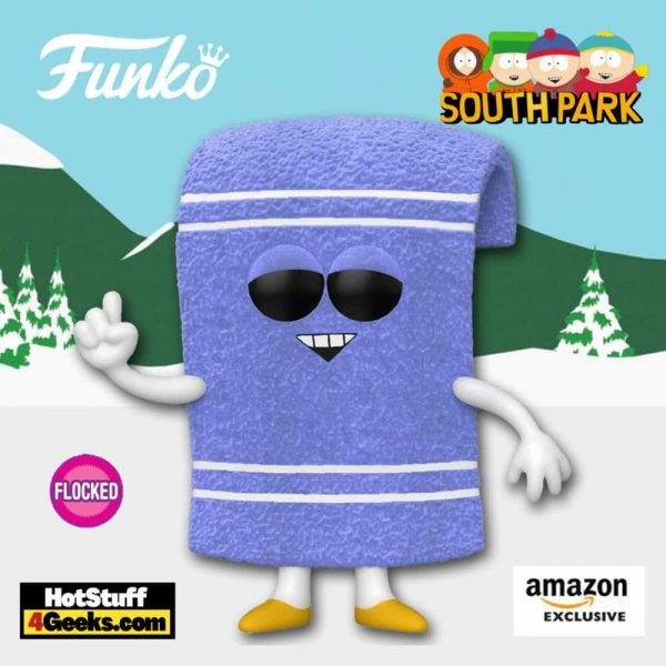 Funko Pop! Animation: South Park - Towelie (Flocked) Funko Pop! Vinyl Figure - Amazon Exclusive