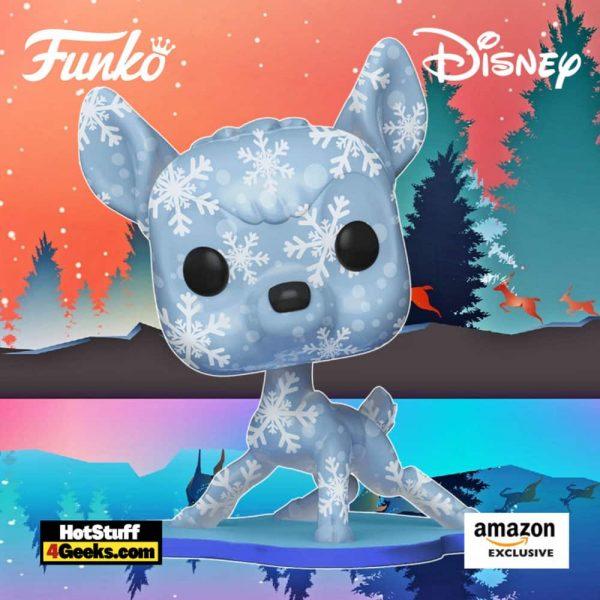 Funko Pop! Art Series: Disney Treasures of The Vault – Bambi Artist Series Funko Pop! Vinyl Figure - Amazon Exclusive