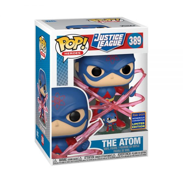 Funko Pop! DC Heroes: Justice League - The Atom Funko Pop! Vinyl Figure - Wondercon and Wondrous Convention 2021 and GameStop Shared Exclusive