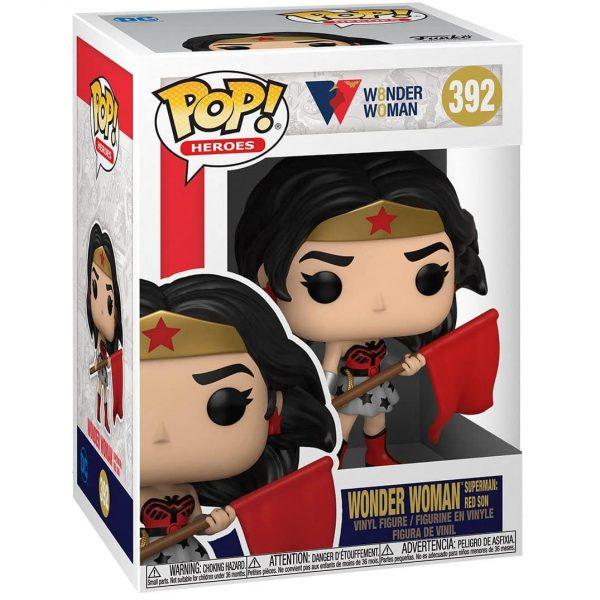 Funko Pop! DC Heroes: Wonder Woman 80th Anniversary – Wonder Woman Superman Red Son Funko Pop! Vinyl Figure