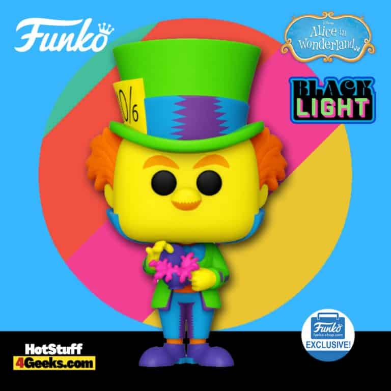 Funko Pop! Disney: Alice in Wonderland - Mad Hatter Black Light Funko Pop! Vinyl Figure