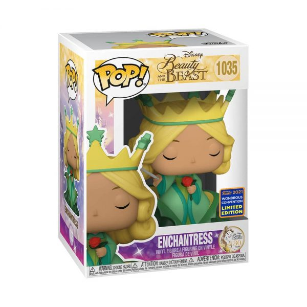 Funko Pop! Disney: Beauty and the Beast - Enchantress Funko Pop! Vinyl Figure - Wondercon and Wondrous Convention 2021 and Hot Topic Shared Exclusive