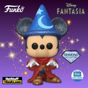 Funko Pop! Disney Fantasia: Sorcerer Mickey Diamond Funko Pop! Vinyl figure - Funko Shop Exclusive
