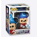 Funko Pop! Disney Fantasia:Sorcerer Mickey Diamond Funko Pop! Vinyl figure - Funko Shop Exclusive